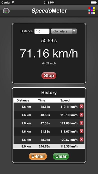 Speedometer App screenshot two
