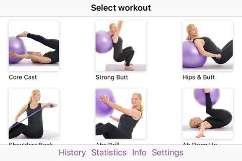 Ball & Band by Poworkout screenshot 1