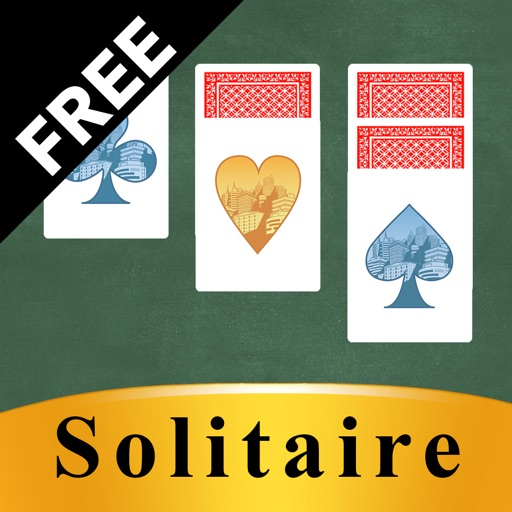 Solitaire Simple free iOS App