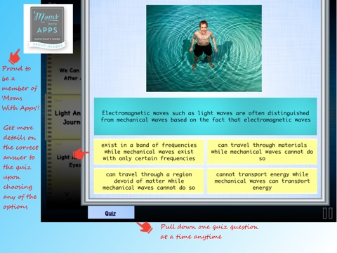 Science of Light Vol-1 Lite: Basic Physics Concepts by Learning Rabbit screenshot 3