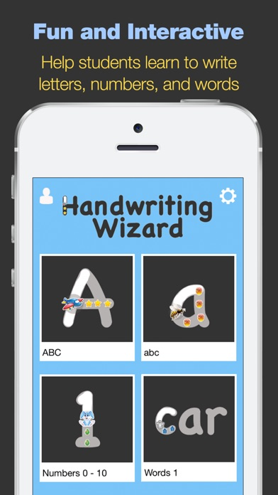 Write on handwriting app for iphone
