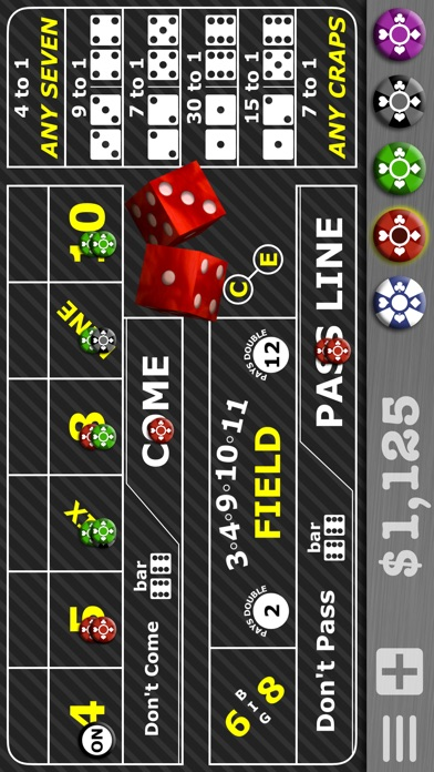 Casino Craps Pro 3D Screenshot