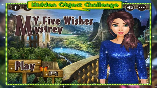 My Five Wishes Mystery - Solve the Hidden Objects Screenshot