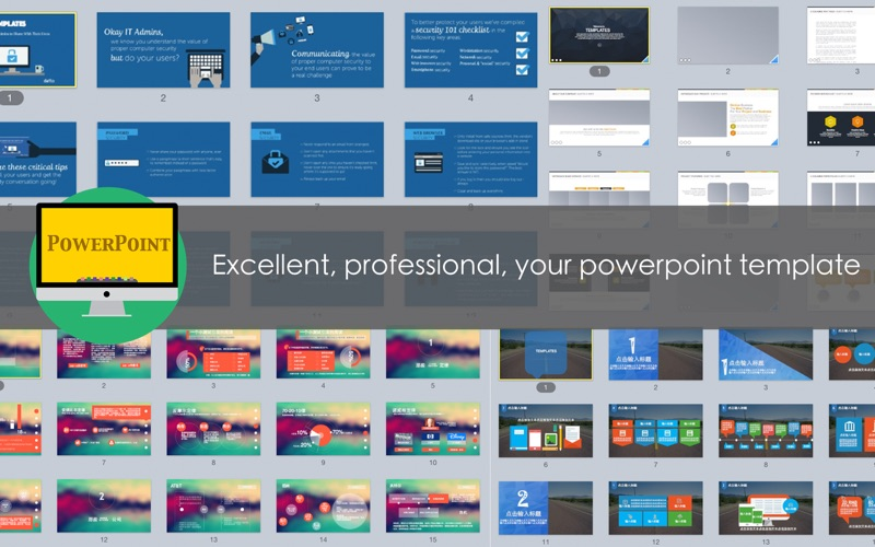 Excellent Powerpoint Templates