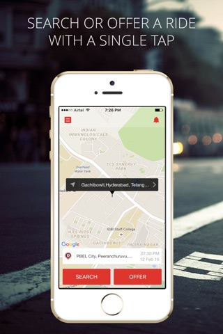 Zify - Instant Carpooling screenshot 1