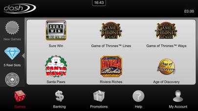 Dash Casino - Your Favourite Online Slots, Roulette & Blackjack screenshot two
