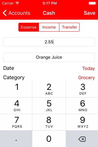 Point - Personal Finance Tracker screenshot 3