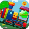 Trainyard Express Choo Choo Trains Color Games For Toddler & Preschool Kids by Play 'N Learn Apps