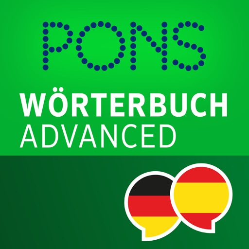 Dictionary Spanish - German ADVANCED by PONS