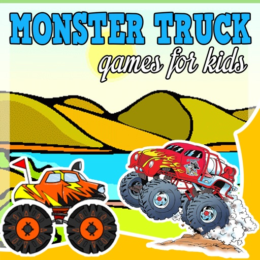 monster truck games for kids jigsaw puzzles sounds by marco baatjes. Black Bedroom Furniture Sets. Home Design Ideas
