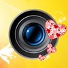 Love Camera Art Pro - Valentine Wish Card from yr. pics