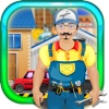 Crazy Mechanics Garage - Auto repair workshop salon & truck game