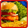Fast Food Burger Maker - BBQ grill food and kitchen game