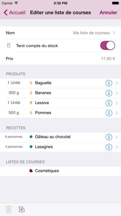 Connu Courses Manager dans l'App Store VE78
