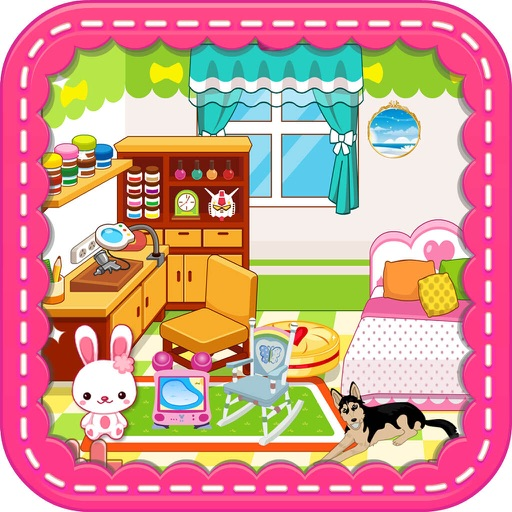 Princess Bedroom Girls Room Decoration Games Par Yanwei Han
