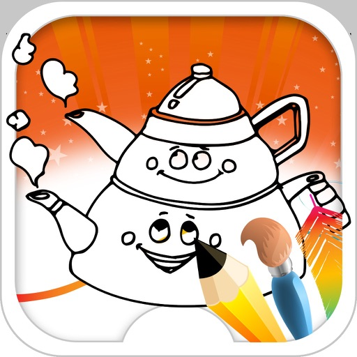 Coloring Book House iOS App
