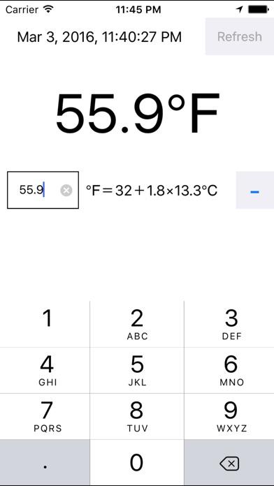 градусов по Фаренгейту с помощью GPSСкриншоты 1