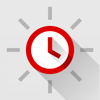 Red Clock FREE Edition - The Minimal Alarm Clock