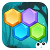Hex Crush Mania - Jewels Match Line Puzzle