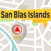 San Blas Islands Offline Map Navigator and Guide