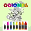 Coloring Kids Game Woody Woodpecker Edition