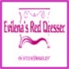 Evilenas Red Dresser