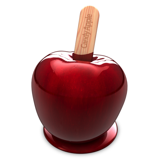 Candy Apple - Vector Graphic Design
