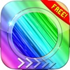 BlurLock -  Rainbow Design :  Blur Lock Screen Photo Maker Wallpapers For Free