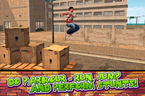 Crazy Stunt Parkour Simulator 3D Full screenshot 2