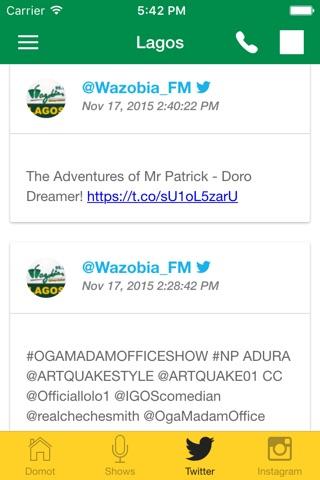 Wazobia FM screenshot 4