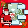 Santa Christmas Ice Hop - Fly Fist of Fury Game!