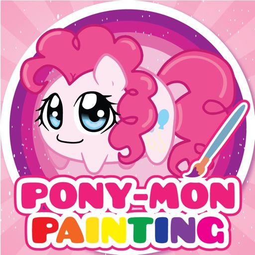 PONY MON Friendship Paniting Games for little Boys and Girls iOS App