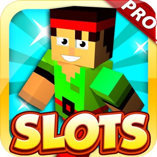 Blocky Spin & Win Slots Pro iOS App
