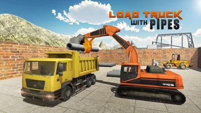 ヘビーショベルクレーンシミュレータ3D - PRO建設トラック運転手の挑戦のスクリーンショット3