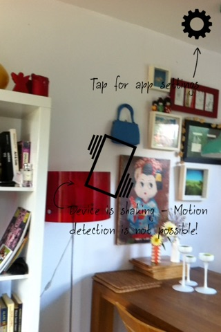 Motion Detector Cam Free screenshot 3