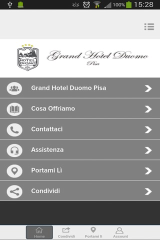 Grand Hotel Duomo Pisa screenshot 1