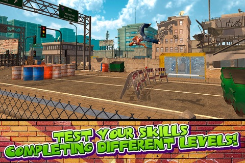 Crazy Stunt Parkour Simulator 3D Full screenshot 3
