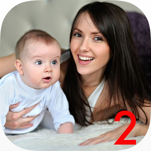 Future Baby Reveal 2 - face moments with sweat photo inside iOS App