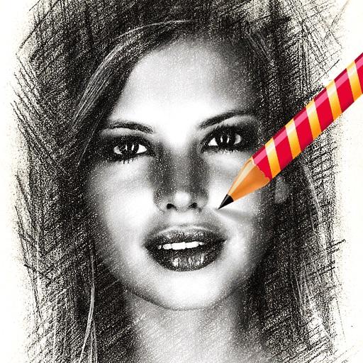 我的素描:My Sketch【照片艺术处理】