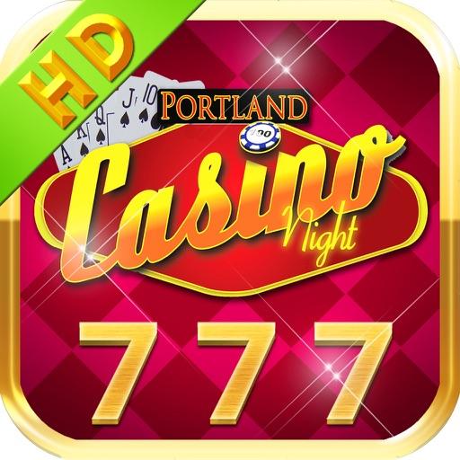 Awesome 777 Casino Night - HD Blackjack & Prize Wheel Slots iOS App
