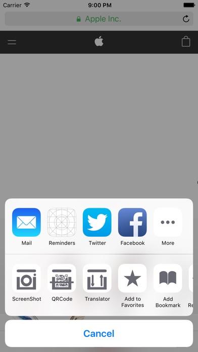 iWebBoxサファリの差込(ページ全体のスクリーン ショット,QR コード,通訳)のおすすめ画像3