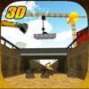 Brücken bauer Konstruktor Kran führer 3D Simulator