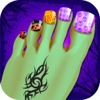 toe nail art - monster girl games