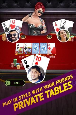 Poker Live! 3D Texas Hold'em screenshot 3