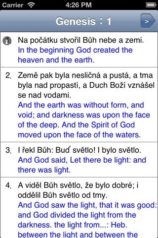 Čtení Bible screenshot 2