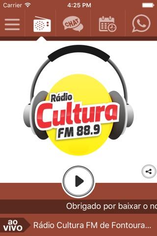 Cultura FM 88.9 Fontoura Xavier screenshot 1