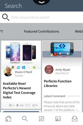 Perfecto Mobile screenshot 1