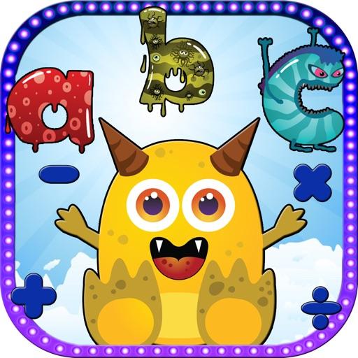 ABC Monster Kids Math Game iOS App
