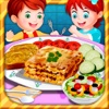 baby cooking game-lasagna