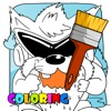 Coloring Book Game for Looney Tunes Version